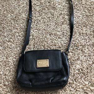 Black MIchael Kors cross body purse
